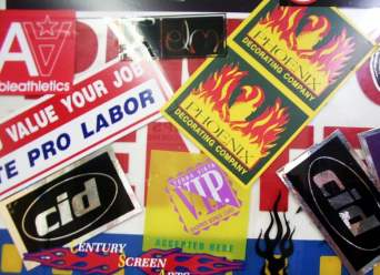Stickers and Promo